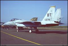 F15 C BT 79-0078 22TFS Chièvres juin 1987 (paulschaller67) Tags: f15 c bt 790078 22tfs chièvres juin 1987
