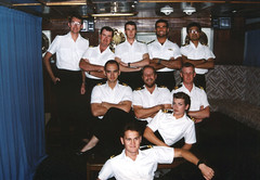 Ship's Single Officers in the Wardroom (Serendigity) Tags: hmasmoresby westernaustralia wa wardroom officers australia interior royalaustraliannavy ran personnel redsearig navy ranhydrographicservice au