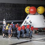 NASA and the U.S. Navy Conducted a Stationary Recovery Test on the Orion Boilerplate thumbnail