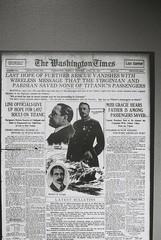 Washington Times (goodfella2459) Tags: nikonf4 afnikkor50mmf14dlens ilforddelta3200 35mm blackandwhite film analog titanic history sydney whitestarline exhibitioncentre byronkennedyhall bwfp