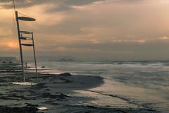 After the storm (*Nenuco) Tags: valència malvarrosa beach playa sol sun mar sea orange clouds nubes nikon d5300 nikkor 1855 jesúsmr tormenta storm