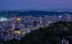 _DSF0468 (GOBO_jung) Tags: xf35mm xt20 fuji fujifilm xf35mmf14 r 軍艦岩 陽明大學 taipei nightscape cityscape