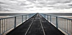 ... (a.penny) Tags: seebrücke bridge atlantic france apenny aw120 nikon coolpix panorama