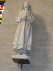 Statue de l'ancienne église
