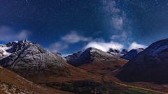 Glen Coe Milky Way (jasty78) Tags: papofglencoe sgorrnaciche glencoe mountain ice snow winter landscape night nightsky astrophotography milkyway stars scotland scottish highlands nikond7200 sigma350mmf14