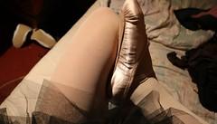 ballett slippers (Turnschläppchen Lover) Tags: ballett sissy fetish ballettschuhe strumpfhose