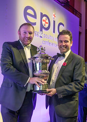 3505 - With Geoff Buchanan - Winner of the BPC/For Farmers Man/Woman of the year award