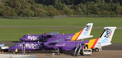 Flybe's G-ISLI & G-PRPB SOU 210918 (kitmasterbloke) Tags: sou southampton aircraft aviation airliner transport hampshire outdoor