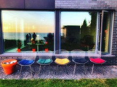 Chairs by the lake #urbanphotography #visualpoetry #steeetphotography (r.wright1000) Tags: ifttt instagram