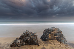 Twins (Ana Isabel Iranzo) Tags: sunset rocks seascape dramatic sky long exposure calblanque murcia spain canon anais iranzo