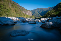 Maggia (schuetz.photography) Tags: schweiz swiss switzerland rocks river water stones forrest green blue europe travel landscape nature tessin ticino valle maggia sony a7 a7rm2 a7rmii ilce mirrorless 24105mm
