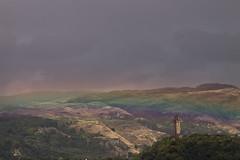 Coloured Land (Ladistorta) Tags: landscape scotland stirling wallacemonument rainbow colors land travel