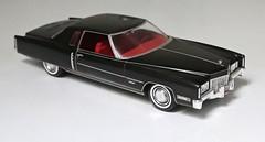 Cadillac Eldorado Coupe 1971 (Jeffcad) Tags: cadillac car eldorado coupe 1971 125 scale model models johan kit plastic black
