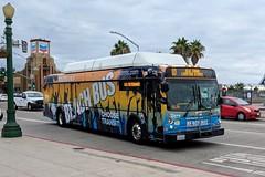MTS Bus (So Cal Metro) Tags: bus metro transit mts sandiegotransit sandiego newflyer c40lfr 700 rt10 bus725 cityheights beachbus wrap ad promo promotion