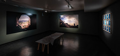 Exhibition כאן here / was كان by photographer Eivind H. Natvig.