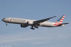 N727AN 2909ii copy (Baz Aviation Photo's) Tags: n727an boeing 777323er american airlines aal aa heathrow lhr egll 27l aa38