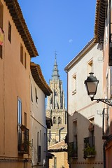 Toledo - View to the cathedral (M Malinov) Tags: toledo spain old oldest architecture europe eu city толедо испания европа cathedral saintmary