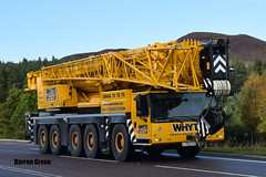 WHYTE CRANE HIRE LIEBHERR LTM 1220-5.2 LT66 HJJ (Darren (Denzil) Green) Tags: whytecranehireaberdeen whytecranehire wmwhyte wmwhytecranehire moy a9 lt66hjj 122051 ltm liebherr liebherrcranes aberdeen grangemouth division crane heavy cranehire heavycranedivision