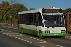 Mini: Stephensons of Essex Optare Solo M850SL MX06BPZ (327) Cambridge Road Stansted Mountfitchet 20/10/18 (TheStanstedTrainspotter) Tags: bus buses public transport vehicle publictransport bishopsstortford bishopsstortfordinterchange stansted stanstedmountfitchet saffronwalden 301 newport audleyend quendon ugley widdington stephensonsofessex stephensons essex optare solo optaresolo mx06bpz 327 ecc essexcountycouncil cambridgeroad m880sl