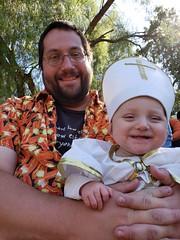 Big smile (quinn.anya) Tags: andy eliza baby pope smile renfaire renaissancefaire norcalrenfaire northerncaliforniarenaissancefaire