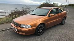C70 T5 (Sam Tait) Tags: volvo c70 t5 23 5 cylinder orange petrol retro rare hard top 1997 sport coupe