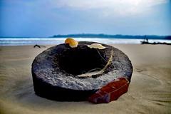 Still live at Mawella beach (paaddor) Tags: beach beachlife beachscape nikonphotography beachphotography srilanka tangalle stilllife ocean sea