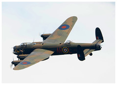 BBMF Lancaster @ Duxford (Ciaranchef's photography.) Tags: lancaster bbmf basttleofbritainmemorialflight nikond7000 nikonaviation tamron150600 avrolancaster avro bombercommand bomber