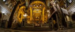 Part one: La Sicilia è... exclaim OMG inside all the churches (Cappella Palatina, Palermo) (Pep Peñarroya) Tags: lasiciliaè sicilia sicily palermo italy cappellapalatina