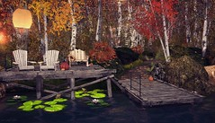 Frog Hollow (SL Wanderlust) Tags: fall autumn seasonal photographic blogger leaves bridges dining piano scenic