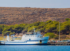 Ferry - Aeolis  (Myrina Town Harbour -  Lemnos - Greece) (Olympus OM-D EM1-II & M.Zuiko 40-150mm f2.8 Pro Zoom) (1 of 1) (markdbaynham) Tags: greece greek hellas hellenic greekisland grecia greka myrina myrinatown harbour limnos lemnos greekholiday olympus olympusgreece olympusomd omd olympusem1 olympusprolens mft olympuspro olympusmft m43 mzd mz zd mzuiko zuikolic 40150mm f28 prozoom telephoto m43rd mirrorless evil csc microfourthird microfourthirds micro43 micro43rd gr ferry em1 em1mk2 em1ii northaegean aegean aegeanisland northaegeanisland travel europe greeceaegean em1mark2