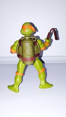 T.M.N.T Spittin Michaelalego Nickelodeon Teenage Mutant Ninja Turtels Action Figur (Rodimuspower) Tags: tmnt spittin michaelalego nickelodeon teenage mutant ninja turtels action figur