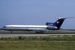 Continental Airways TU-154M RA-85760 BCN 12/07/2003 (jordi757) Tags: airplanes avions nikon f90x kodachrome kodachrome64 bcn lebl barcelona elprat tupolev tu154 continentalairways ra85760