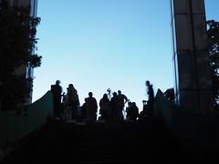 unkai watchers (take a photo of taking a photo No.11) (matsugoro) Tags: olympus digital omd em5markii em5 zuiko 25mm mzuiko chichibu saitama unkai cloud clouds seaofclouds people sky