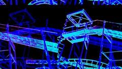 """""""Winter at the beach"""" a silent roller coaster at night (delmarvausa) Tags: jollyroger amusements pier oceancitymd ocmd maryland amusementrides rollercoasters rollercoaster jollyrogeratthepier oceancity boardwalk rides summer boardwalkpier summertime oceancitymaryland color delmarva delmarvapeninsula easternshore midatlantic coastaldelmarva eastcoast beachtown coaster amusementpark rollercoasterride amusement oceancityboardwalk track ride tracks"""