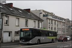 Irisbus Crossway LE - Lila (Lignes Intérieures de Loire-Atlantique) (Semvatac) Tags: semvatac photo bus tramway métro transportencommun irisbus crosswayle cv828hp lila lignesintérieuresdeloireatlantique lilapremier routederennes nantes loireatlantique