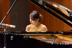 180927 Azumi Nishizawa @ Suntory Hall Blue Rose-04.jpg (Bruce Batten) Tags: friendsacquaintances honshu japan locations musicalinstruments occasions people performances reflections subjects tokyo