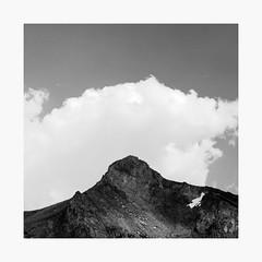 Tioga Pass | A Road Trip (bnishimoto) Tags: minimal roadtrip fujifilm acros bw monochrome xpro2 18135mm landscape sky mountainside mountain
