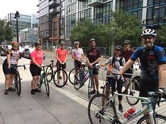 Conte's Coffee Ride 10/7/18 (Mr.TinDC) Tags: people friends cyclists contes biking coffeeride groupride dc washingtondc navyyard