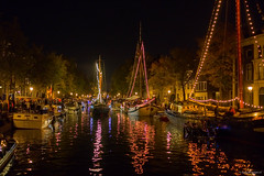 Distillers Festivities Schiedam (John Riper) Tags: johnriper street photography straatfotografie night netherlands john riper schiedam fuji fujifilm xt3 xf 23mm f14 brandersfeesten boats lights illuminated mood reflections