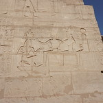 The Ramesseum is the memorial temple of Pharaoh Ramesses II, West Bank, Luxor, Egypt. thumbnail