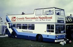 Slide 122-65 (Steve Guess) Tags: open top topper topless epsom downs racecourse surrey england gb uk bus leyland atlantean lancaster