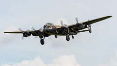 Lancaster PA474 (lee adcock) Tags: bbmf exercisecobrawarrior2018 nikond500 pa474 battleofbritain coningsby lancaster nikon70200f28vri runway25