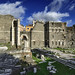 Italy, Rome, Roman Forum (Forum of Nerva and Forum of Augustus, 97 A.D), roman ruins