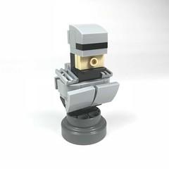 Rooooobcocop (willgalb) Tags: robocop movie figure toy model moc bust lego