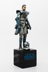 20181016-MJS_3499 (_m_sinclair) Tags: star wars clone trooper arc fives domino 501st 501 custom painted action figure