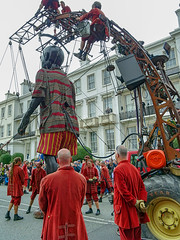 LITTLE BOY STOP 9 WITH LADY (CloudBuster) Tags: liverpool liverpools dream royal de luxe france nantes united kingdom culture october 2018 giant spectacular
