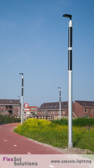Smart city light poles powered by PV (FlexSol Solutions) Tags: soluxio solar street light powered lighting pv smart city sustainable circular economy