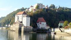 2018-B154 Passau 3 Flüsse Rundfahrt (Wolfgang Appel) Tags: wolfgappel deutschland germany alemania bayern bavaria passau 3flüsserundfahrt flussfahrt donau ilz