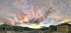 Remains of Sergio Sunset (northern_nights) Tags: sunset firesky goldenhour dusk twilight vail arizona pano panorama