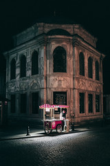 Streetlife by Night (cemalio) Tags: leicaq istanbul